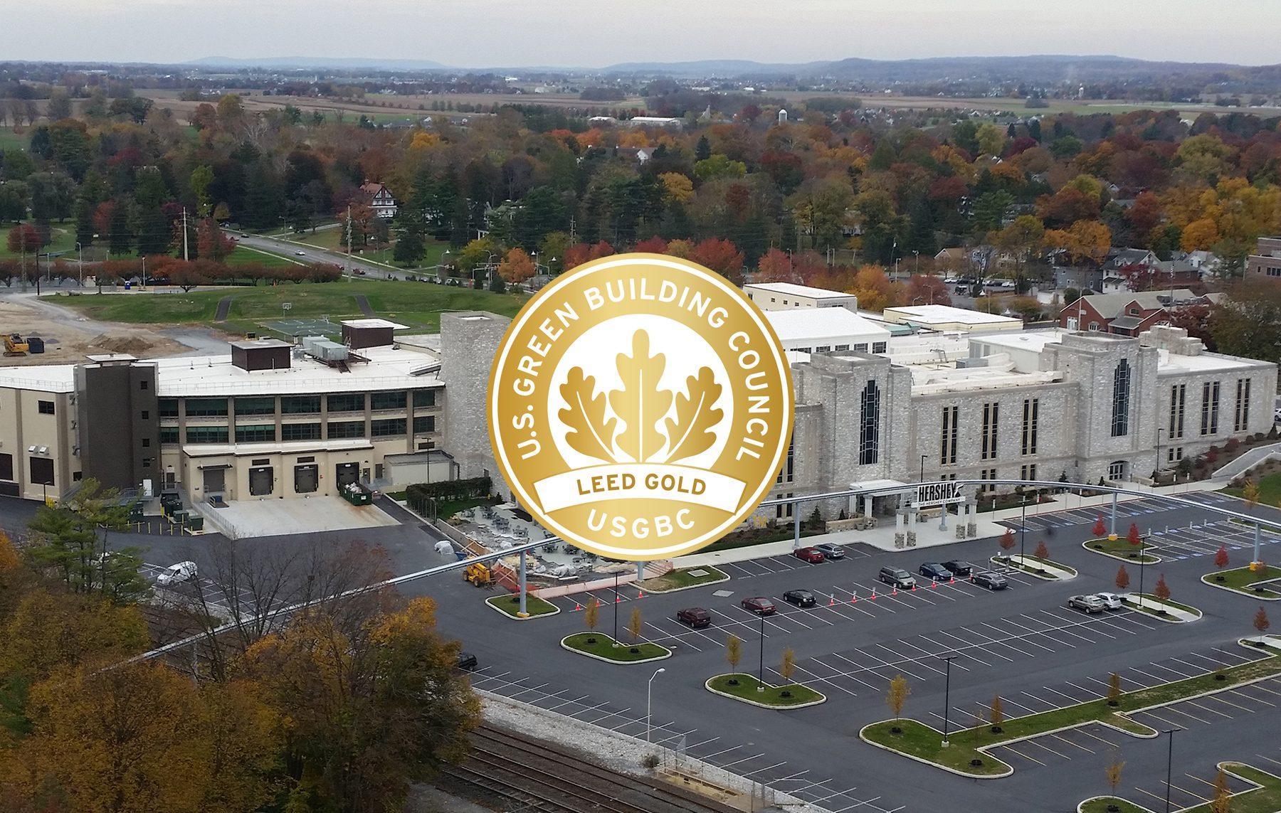 Hershey Next Century Leed Gold