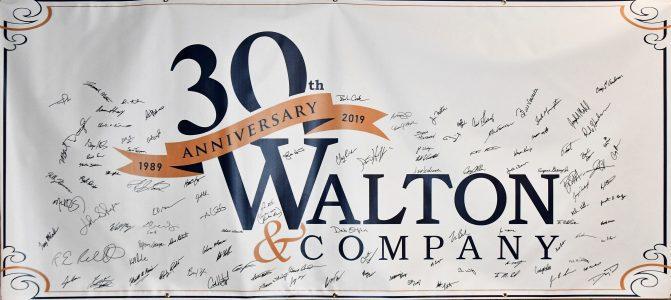 30 year anniversary banner