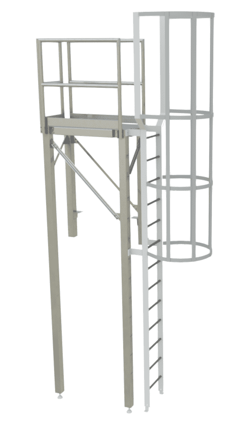 Custom Ladders and Stairs